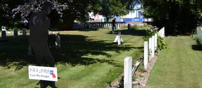 Silent Soldiers and Commonwealth Graves at Blandford Cemetery