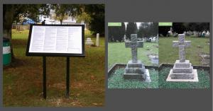Commonwealth War Grave memorials